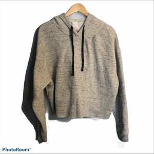 Project Social T Cropped Hooded Sweatshirt